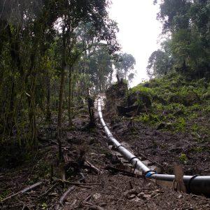 Tuberia forzada hidroelectricas