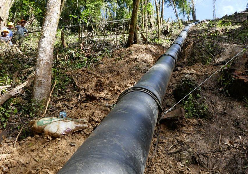 tuberia para hidroelectricas