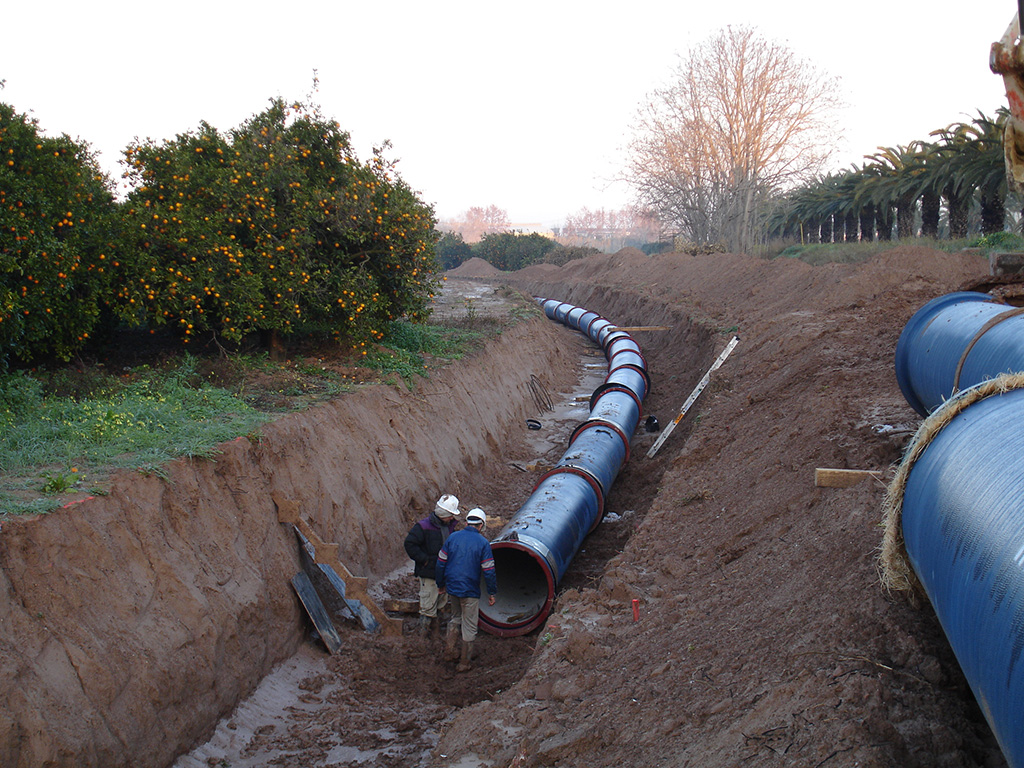 tubos para abastecimiento