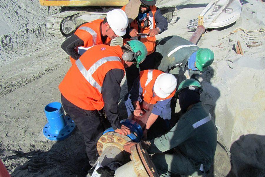 Tuberia para relaves mineros
