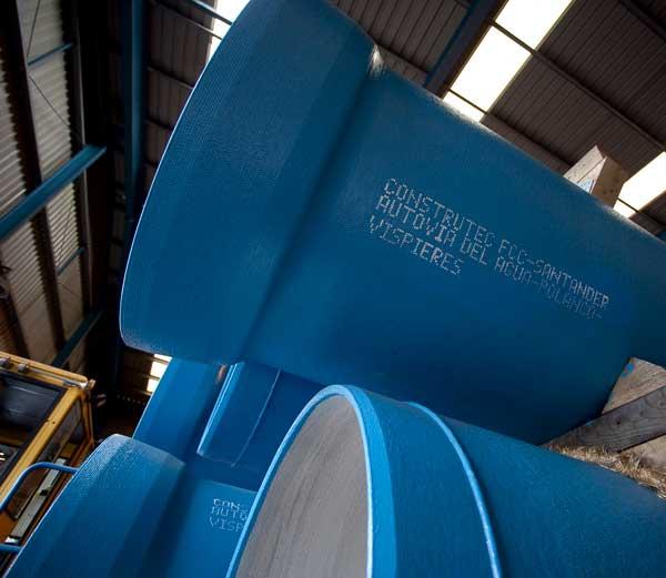 Tubería de fundición dúctil para conducciones de agua sin fugas ni roturas.